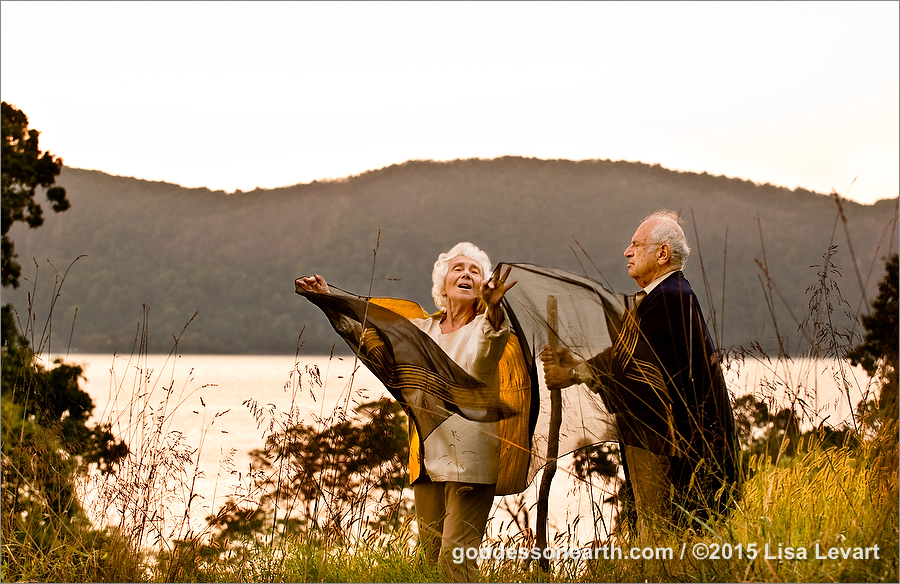 Greta and Herb Levart Meng Po / Goddess on Earth www.Goddessonearth.com